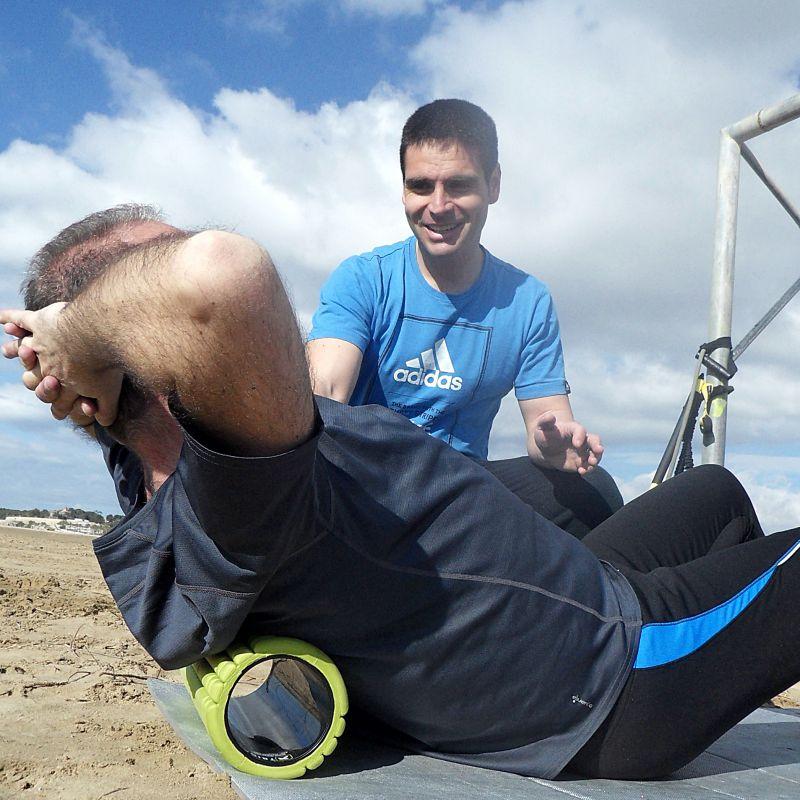Jaume Bonastre, Licenciado en Educación Fisica y entrenador personal